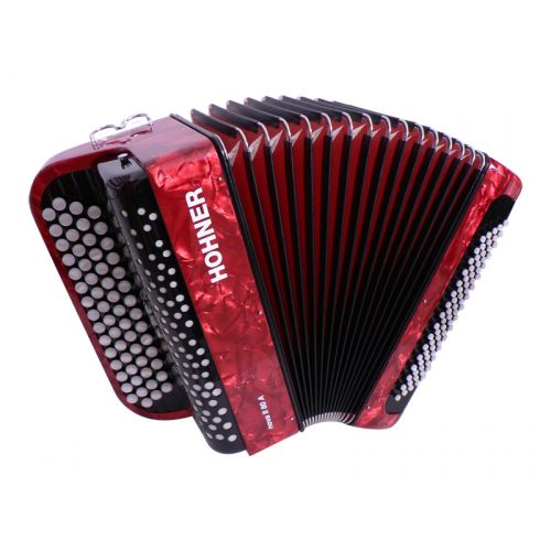 Accordéons - ACCORDEONS - HOHNER - Accordéon NOVA II 80 A rouge - Royez Musik