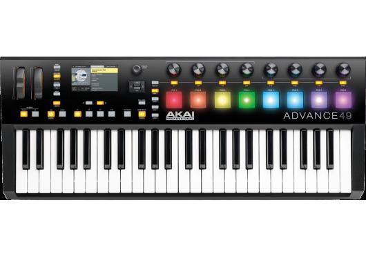 Claviers & Pianos - CLAVIERS MAITRES - Akai Pro - KAP ADVANCE49 - Royez Musik