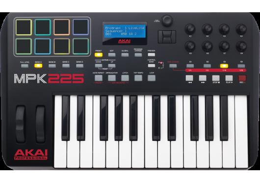 Claviers & Pianos - CLAVIERS MAITRES - Akai Pro - KAP MPK225 - Royez Musik