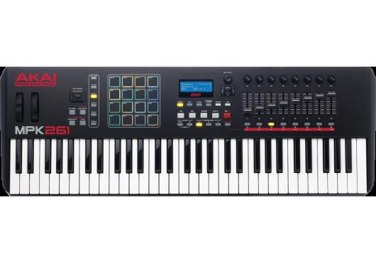 Claviers & Pianos - CLAVIERS MAITRES - Akai Pro - KAP MPK261 - Royez Musik