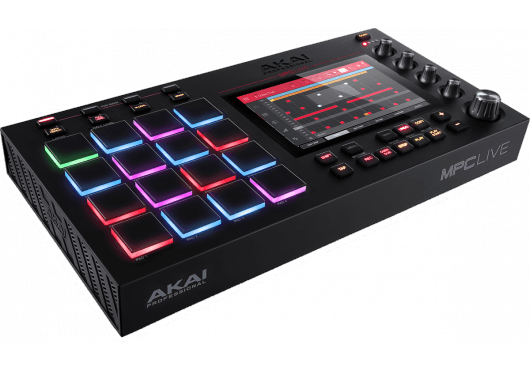 Audio - MACHINES - SURFACES DE CONTROLE - Akai Pro - RAP MPC-LIVE - Royez Musik