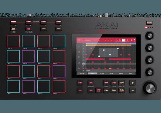 Audio - MACHINES - SURFACES DE CONTROLE - Akai Pro - RAP MPC-LIVE - Royez Musik
