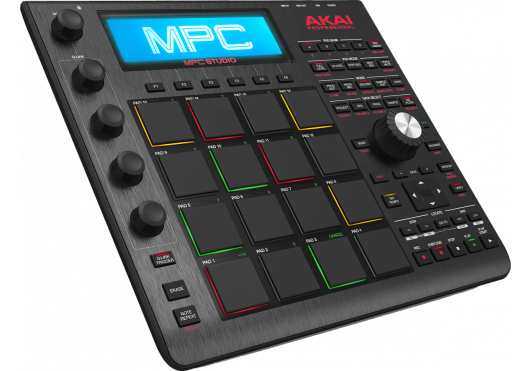 Audio - MACHINES - SURFACES DE CONTROLE - Akai Pro - RAP MPC-STUDIO-BK - Royez Musik