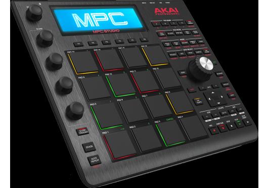 Audio - MACHINES - SURFACES DE CONTROLE - Akai Pro - RAP MPC-STUDIO-BK - Royez Musik