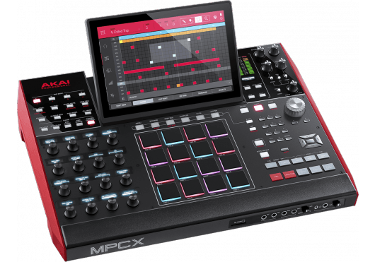 Audio - MACHINES - SURFACES DE CONTROLE - Akai Pro - RAP MPC-X - Royez Musik