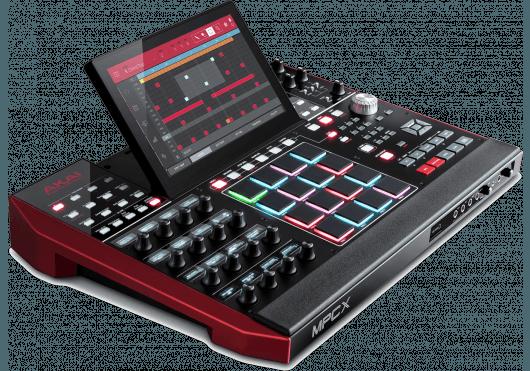 Audio - MACHINES - SURFACES DE CONTROLE - Akai Pro - RAP MPC-X - Royez Musik
