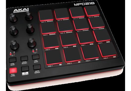 Audio - CONTRÔLEURS - Akai Pro - RAP MPD218 - Royez Musik