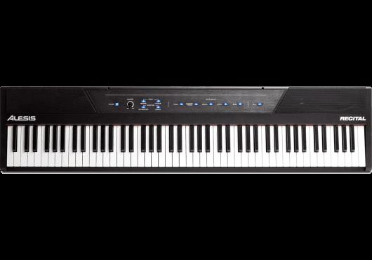 Claviers & Pianos - PIANOS NUMERIQUES - PORTABLE - Alesis - KAL RECITAL - Royez Musik