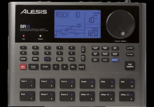 Batteries & Percussions - BOITES A RYTHMES - Alesis - PAL SR-18 - Royez Musik