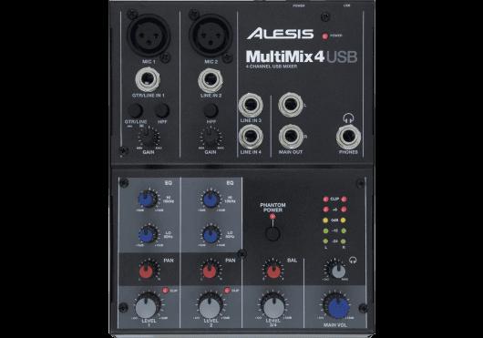Audio - MIXAGE - MIXEURS - Alesis - RAL MM4USB - Royez Musik