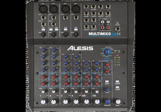 Audio - MIXAGE - MIXEURS - Alesis - RAL MM8USBFX - Royez Musik