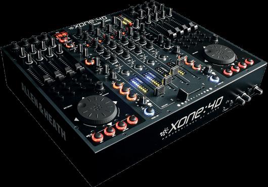 Audio - MIXAGE - TABLES DE MIXAGE DJ - Allen & Heath - DAH XONE-4D - Royez Musik