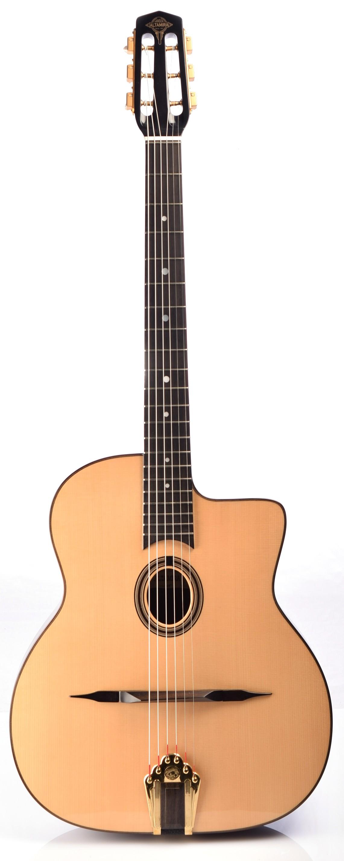 Guitares & Co - GUITARES MANOUCHES - 6 CORDES - ALTAMIRA - AT042 - Royez Musik