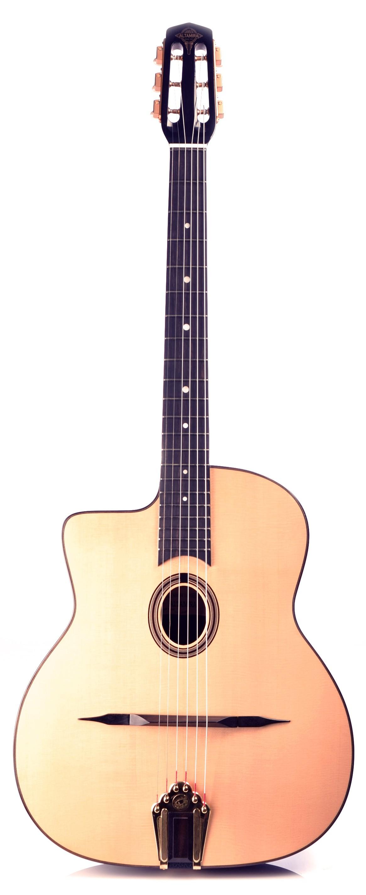Guitares & Co - GUITARES MANOUCHES - 6 CORDES - ALTAMIRA - AT042L - Royez Musik