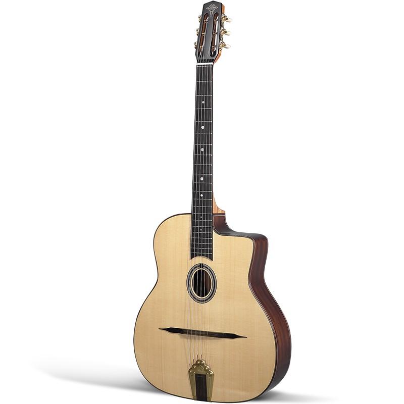 Guitares & Co - GUITARES MANOUCHES - 6 CORDES - ALTAMIRA - AT044 - Royez Musik
