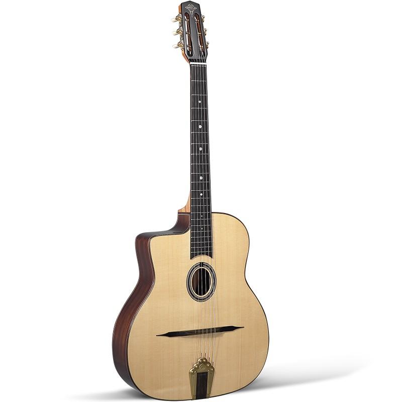 Guitares & Co - GUITARES MANOUCHES - 6 CORDES - ALTAMIRA - AT044L - Royez Musik