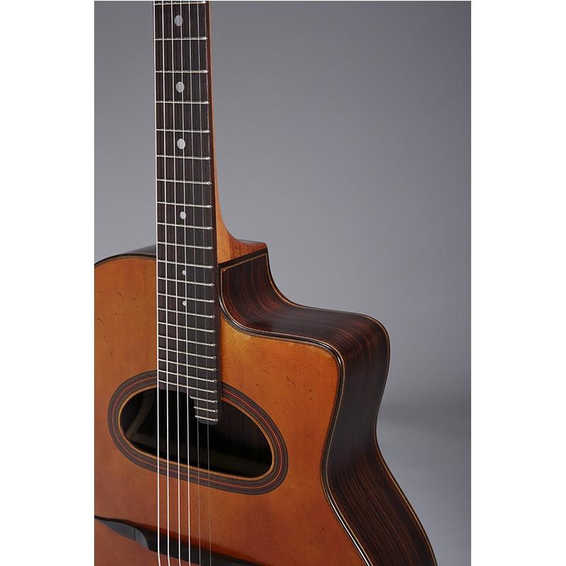 Guitares & Co - GUITARES MANOUCHES - 6 CORDES - ALTAMIRA - AT045 - Royez Musik