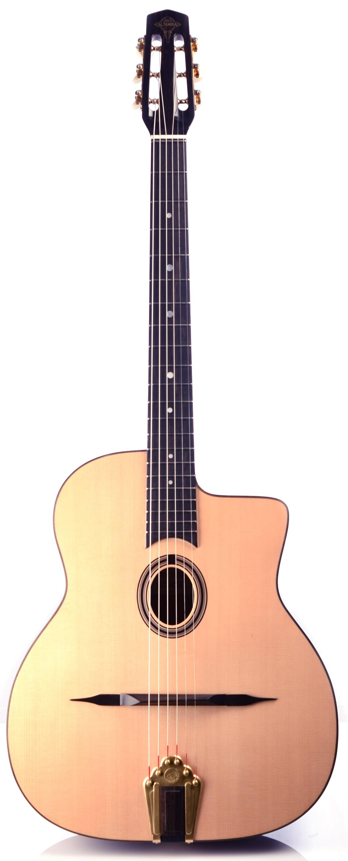 Guitares & Co - GUITARES MANOUCHES - 6 CORDES - ALTAMIRA - AT046 - Royez Musik
