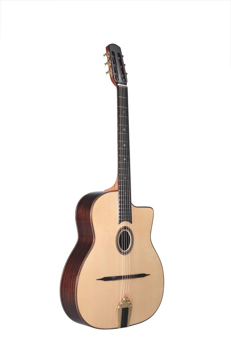Guitares & Co - GUITARES MANOUCHES - 6 CORDES - ALTAMIRA - AT048 - Royez Musik