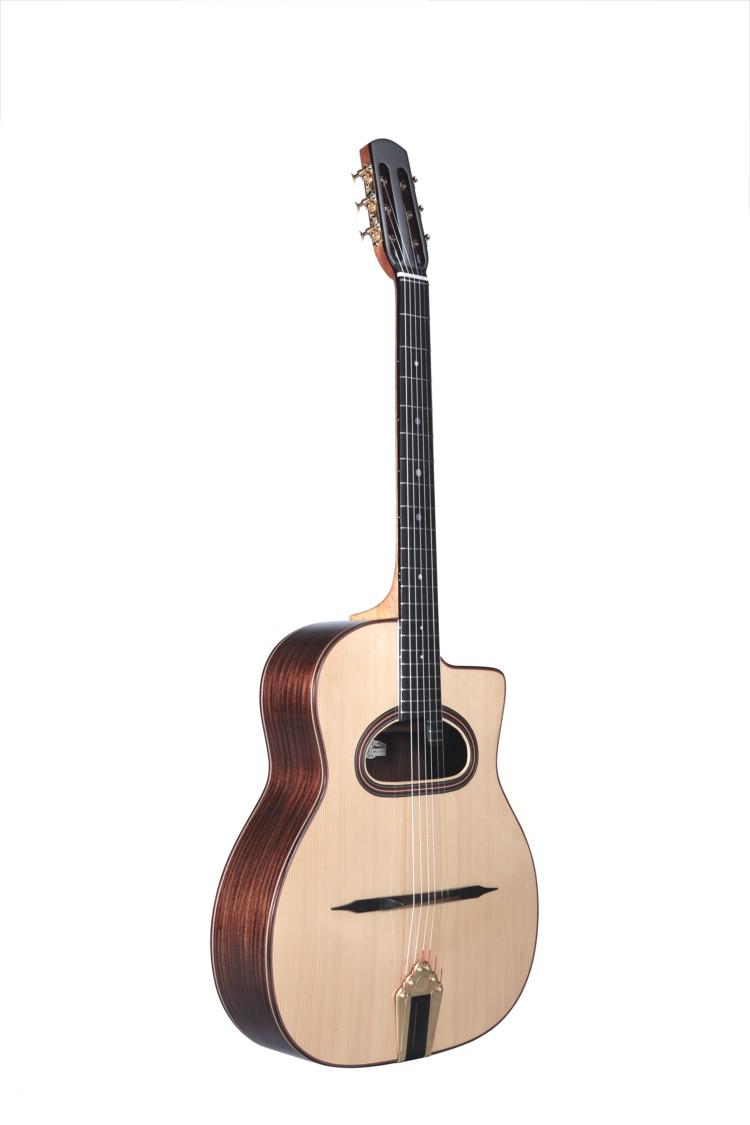 Guitares & Co - GUITARES MANOUCHES - 6 CORDES - ALTAMIRA - AT049 - Royez Musik