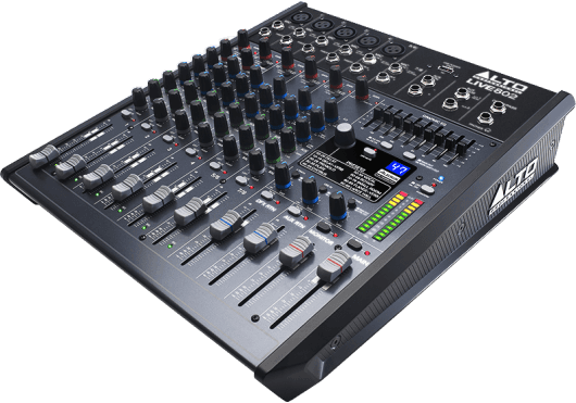 Audio - MIXAGE - MIXEURS - Alto Professional - SLT LIVE802 - Royez Musik