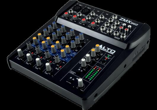 Audio - MIXAGE - MIXEURS - Alto Professional - SLT ZMX862 - Royez Musik