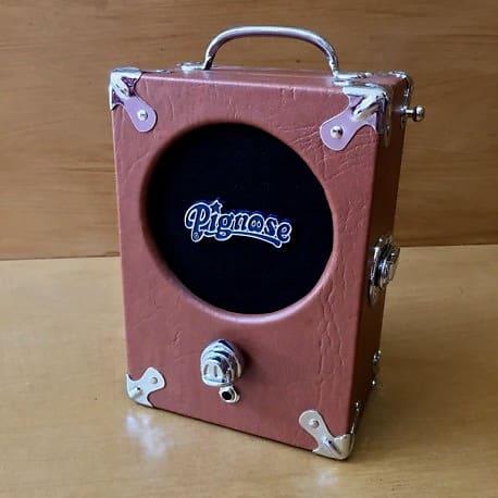 Amplis effets - AMPLIS - GUITARES ELECTRIQUES - TRANSISTOR - PIGNOSE - Ampli Pignose Legendary 7100 Brown  - Royez Musik