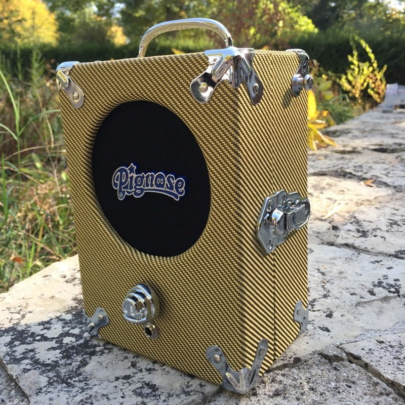 Amplis effets - AMPLIS - GUITARES ELECTRIQUES - TRANSISTOR - PIGNOSE - Ampli Pignose Legendary 7100 Tweed - Royez Musik