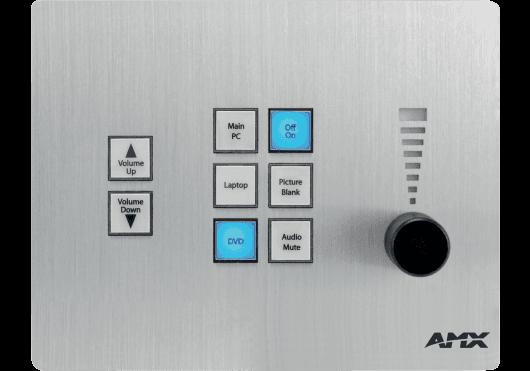 Vidéo - CLAVIERS DE CONTROLE - AMX - EAM CP-3008-BA - Royez Musik