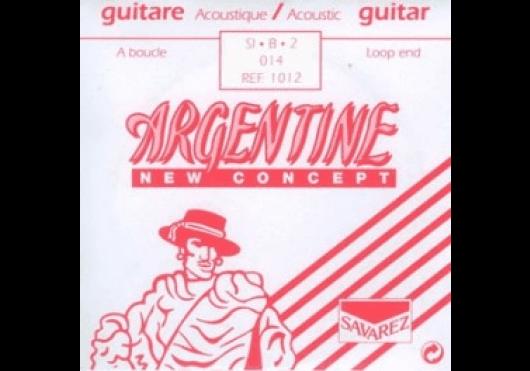 Cordes - CORDES GUITARES ACOUSTIQUES - A L'UNITE - Argentine - CAR 1012 - Royez Musik