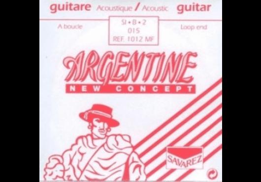 Cordes - CORDES GUITARES ACOUSTIQUES - A L'UNITE - Argentine - CAR 1012MF - Royez Musik