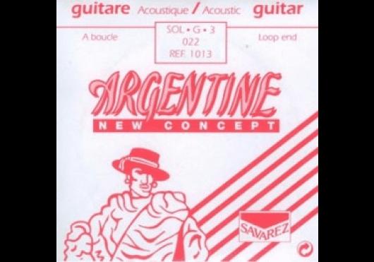 Cordes - CORDES GUITARES ACOUSTIQUES - A L'UNITE - Argentine - CAR 1013 - Royez Musik