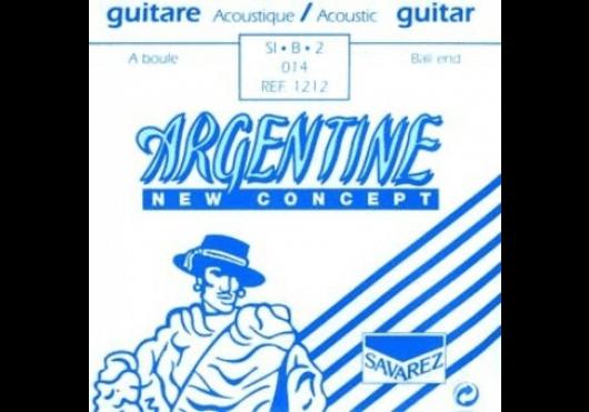 Cordes - CORDES GUITARES ACOUSTIQUES - A L'UNITE - Argentine - CAR 1212 - Royez Musik