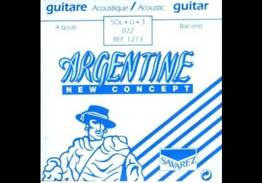 Cordes - CORDES GUITARES ACOUSTIQUES - A L'UNITE - Argentine - CAR 1213 - Royez Musik