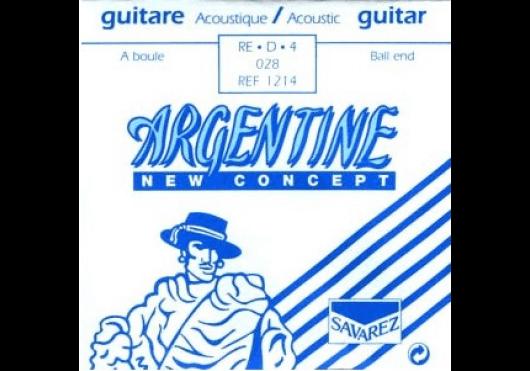 Cordes - CORDES GUITARES ACOUSTIQUES - A L'UNITE - Argentine - CAR 1214 - Royez Musik
