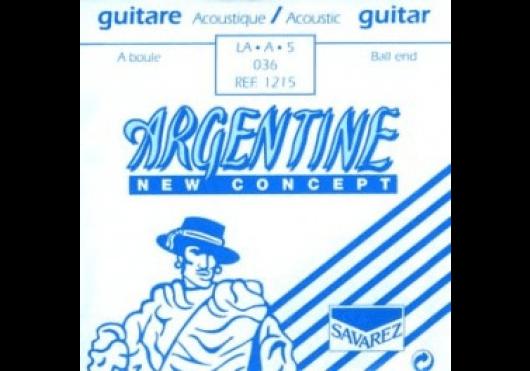 Cordes - CORDES GUITARES ACOUSTIQUES - A L'UNITE - Argentine - CAR 1215 - Royez Musik