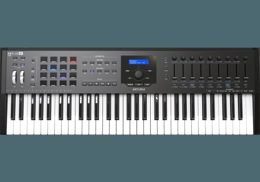 Claviers & Pianos - CLAVIERS - CLAVIERS MAITRES - Arturia - OAR KEYLABMKII61-BK - Royez Musik
