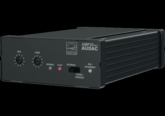 Audio - AMPLIS & PREAMPLIS - AMPLIS - Audac - SAU AMP20MK2 - Royez Musik