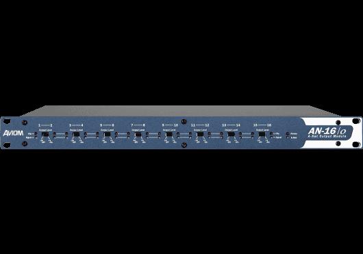 Audio - INSTALLATION - RESEAU AUDIO NUMERIQUE - Aviom - SAV AN16O - Royez Musik