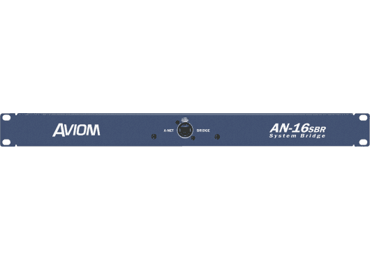 Audio - INSTALLATION - RESEAU AUDIO NUMERIQUE - Aviom - SAV AN16SBR - Royez Musik