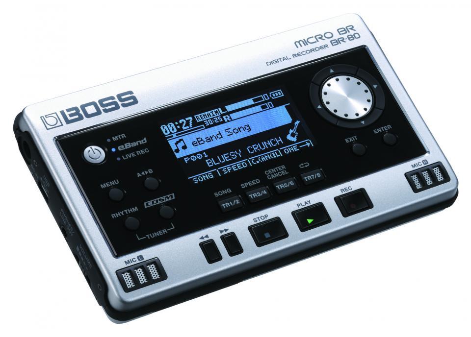 Audio - ENREGISTREMENT ET CAPTURES - BOSS - BR-80 - Royez Musik