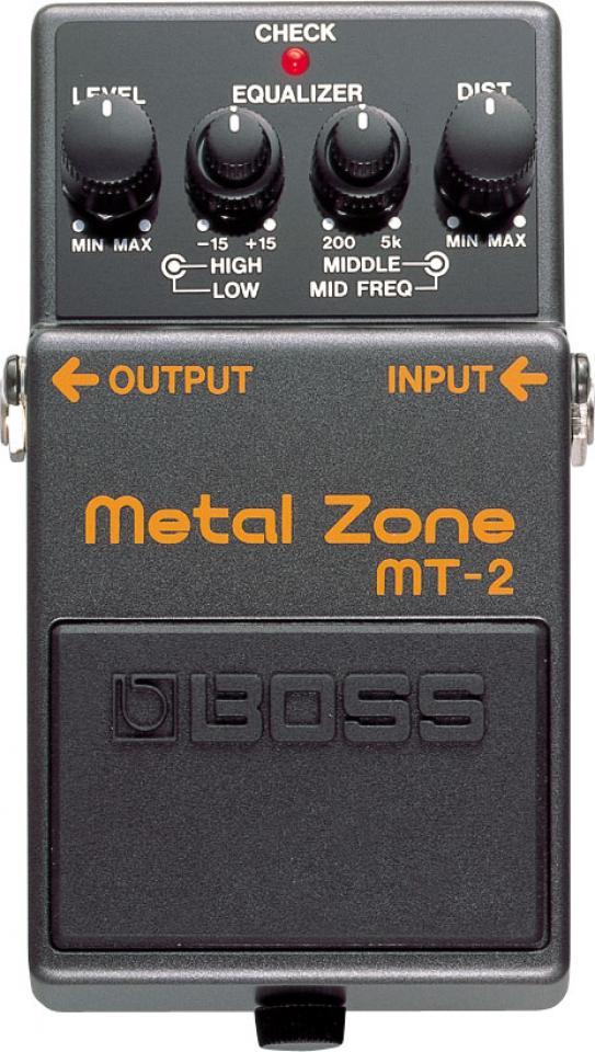 Amplis effets - EFFETS ET MULTI-EFFETS - BOSS - MT-2 - Royez Musik