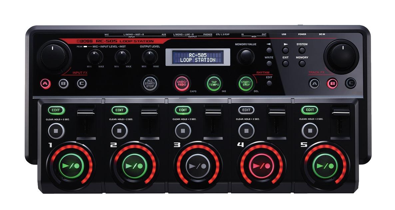 Amplis effets - EFFETS ET MULTI-EFFETS - BOSS - RC-505 - Royez Musik