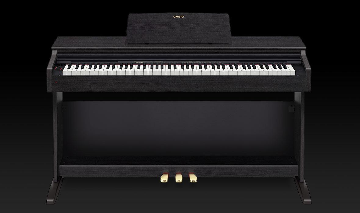 Claviers & Pianos - PIANOS NUMERIQUES - MEUBLE - CASIO - AP-270BK - Royez Musik