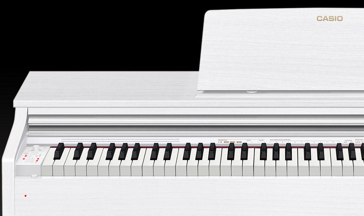 Claviers & Pianos - PIANOS NUMERIQUES - MEUBLE - CASIO - AP-270WE - Royez Musik