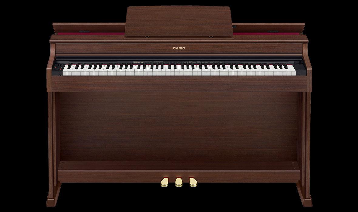 Claviers & Pianos - PIANOS NUMERIQUES - MEUBLE - CASIO - AP-470BN - Royez Musik