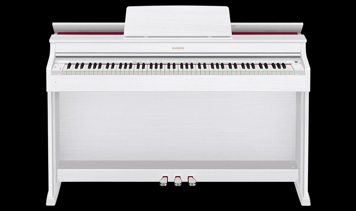 Claviers & Pianos - PIANOS NUMERIQUES - MEUBLE - CASIO - AP-470WE - Royez Musik