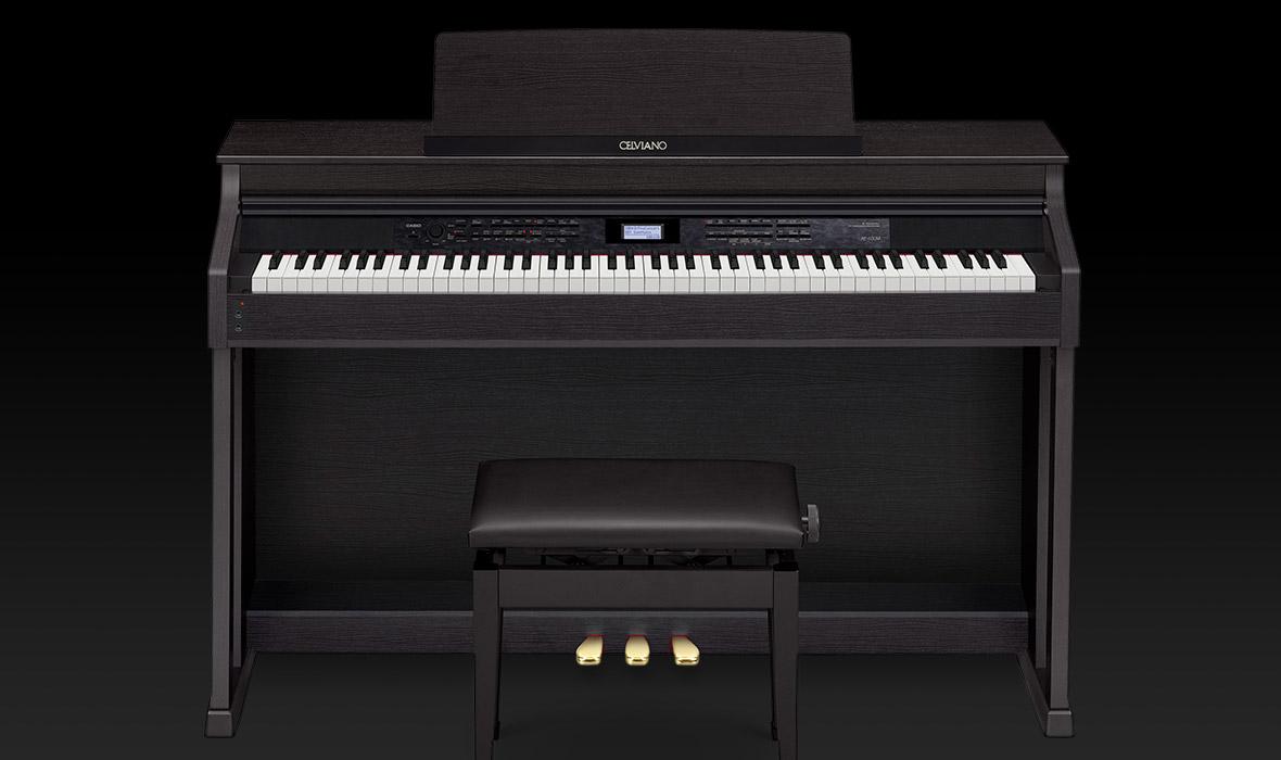 Claviers & Pianos - PIANOS NUMERIQUES - MEUBLE - CASIO - AP-650BK - Royez Musik