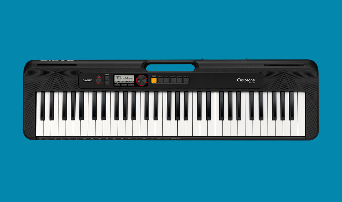 Claviers & Pianos - CLAVIERS - CLAVIERS ARRANGEURS - CASIO - CT-S200BK - Royez Musik