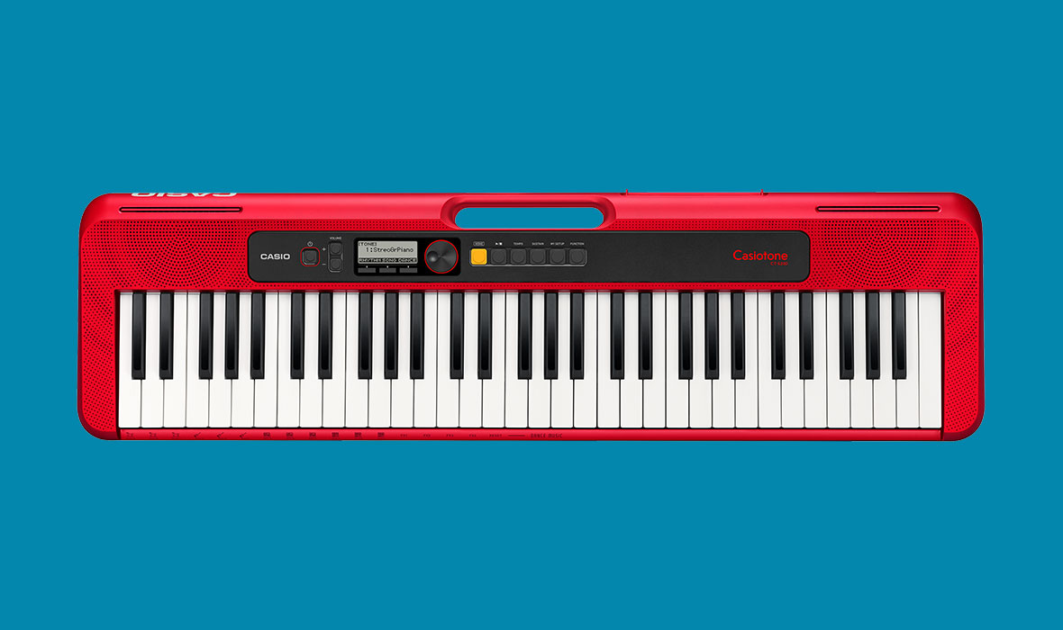 Claviers & Pianos - CLAVIERS - CLAVIERS ARRANGEURS - CASIO - CT-S200RD - Royez Musik